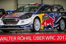 WRC - Video: Rallye-Legende Röhrl: WRC 2017 wieder gefährlicher?