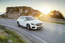 Mercedes überarbeitet sein SUV-Modell GLA
