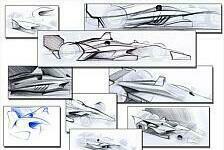Konzept-Studie für die IndyCar 2018: So könnte der Bolide der Zukunft aussehen