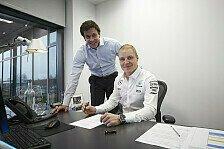 Formel 1: Mercedes verlängert Vertrag mit Valtteri Bottas