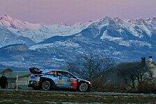 Rallye Monte Carlo: Erste Prüfung nach Paddon-Crash abgebrochen