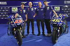 MotoGP - Bilder: Das ist die neue Yamaha M1 von Rossi und Vinales