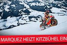 MotoGP - Video: MotoGP Extrem - Marc Marquez auf Schnee