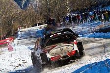 WRC - Video: Monte Carlo: Hänninen rammt Baum frontal