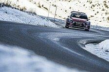 WRC - Video: Citroen-Rückblick: Monte Carlo lief nicht nach Plan