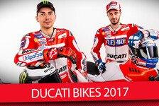 MotoGP - Video: Lorenzos und Doviziosos neue Arbeitsgeräte