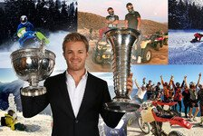 Kurios: Rosberg hatte Ski-Verbot - Hamilton macht's einfach