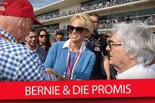 Bernie Ecclestone und die VIPs der Formel 1