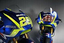 MotoGP - Video: LIVE-STREAM: Suzuki launcht 2018er MotoGP-Motorrad