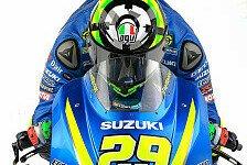 MotoGP - Video: Im Detail: Die Suzuki GSX-RR für die MotoGP 2017