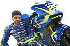 Suzukis MotoGP-Gespann für 2017: Iannone will für Rins den Lehrmeister spielen