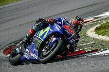 MotoGP - Video: Endlich Action! Rossi und Vinales in Sepang