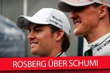 Formel 1 - Video: Rosberg über seine Ex-Teamkollegen Schumacher und Hamilton