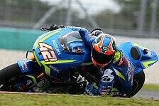 Nach Motocross-Verletzung: Suzuki-Pilot Alex Rins für Argentinien-GP startklar