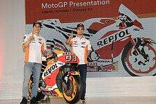 MotoGP - Bilder: Repsol Honda 2017: Das neue Bike von Marquez und Pedrosa