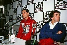 Vor Sebastian Vettel vs. Lewis Hamilton: Die Top-5 Fahrer-Rivalitäten der F1