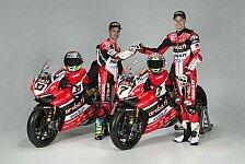 Superbike - Bilder: Rote Göttin! Die neue Ducati Panigale für die Superbike-WM 2017