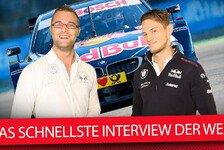 BMW DTM-Star Marco Wittmann: Das schnellste Interview der Welt!