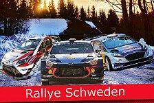 Ticker: Alle News zur Rallye Schweden 2017