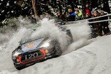 WRC - Video: Hyundai: Die besten Slow Motions der Rallye Schweden