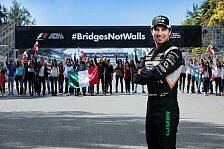 Perez und Mexiko GP unterstützen Hashtag #BridgesNotWalls gegen Trump-Plan