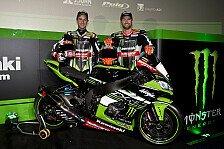 Superbike - Bilder: Kawasaki präsentiert WSBK-Team
