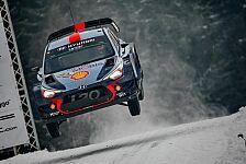 WRC - Video: Hyundai: Die besten Sprünge der Rallye Schweden