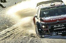 WRC - Video: Citroen sieht nach Rallye Schweden reichlich Nachholbedarf