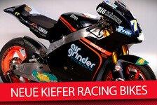 Moto2 - Video: Neue Bikes für Kent und Aegerter