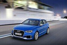 Auto - Update für den Audi RS 3 Sportback