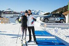BMW-Pilot Bruno Spengler zu Gast bei Biathlon-Weltmeisterschaften in Hochfilzen