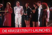 Die acht spektakulärsten Präsentationen der Formel 1