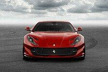Ferrari präsentiert auf dem Genfer Autosalon den neuen 812 Superfast