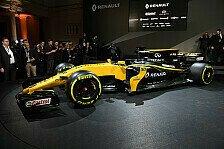 Renault stellt sein neues Auto für die Formel-1-Saison 2017 vor: Der R.S.17