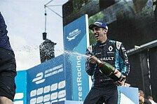 Formel E - Buemi siegt nach Rosenqvist-Strafe in Berlin