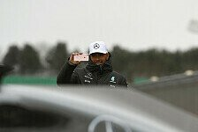 Formel 1 - Video: Hinter den Kulissen der Mercedes-Präsentation