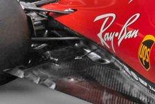 Formel 1 - Bilderserie: Die Technik des Ferrari SF70H