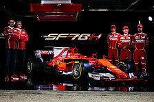 Spieglein, Spieglein: Mercedes, Ferrari oder doch Haas? Der schönste Bolide 2017