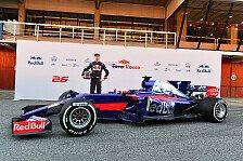 Toro Rosso hat seinen neuen Formel-1-Boliden für 2017 vorgestellt