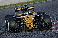Renault-Pilot Hülkenbergs erste Erkenntnis: Formel 1 breit wie ein LKW