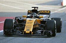 Hülkenberg und Renault am Mittwoch in Barcelona vom Fehlerteufel geplagt