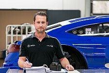 Im Portrait: Mercedes-Chefmechaniker Stefan Kalke