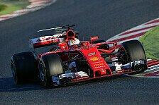 Testkönig Ferrari: Was sind die Rundenzeiten von Vettel und Kimi diesmal wert