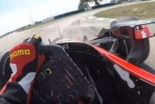 IndyCar - Video: Graham Rahal: Mit Visierkamera in Sebring
