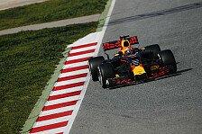 Red Bull war während der ersten Woche der Formel-1-Tests in Barcelona unsichtbar