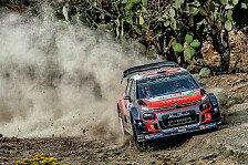 WRC - Video: Mexiko: Meekes Parkplatz-Ausritt auf der Power Stage