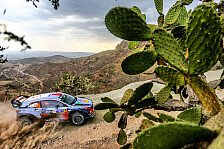 WRC - Video: Hyundai: So lief der Shakedown vor der Rallye Mexiko