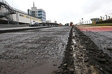 Umbauarbeiten des Sachsenrings für das MotoGP-Rennen haben begonnen