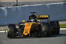 Nico Hülkenberg zieht eine durchwachsene Bilanz der Formel-1-Testfahrten