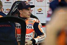 Honda bringt Doppelverkleidung - Marquez stürzt damit zum Auftakt